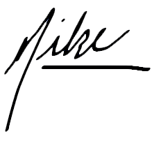 signature of Michael Kupietz