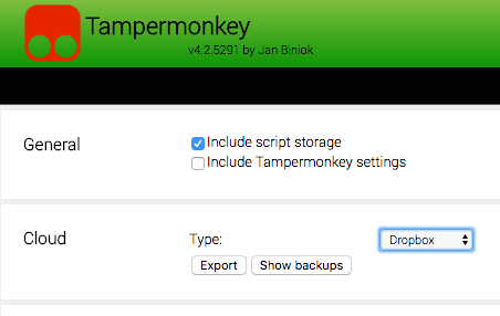 How to have a userscript in TamperMonkey/GreaseMonkey automatically